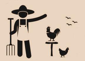 Trabajos de huerto y jardinería